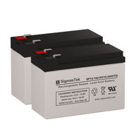 2 CyberPower PP1500T 12V 10.5AH UPS Replacement Batteries