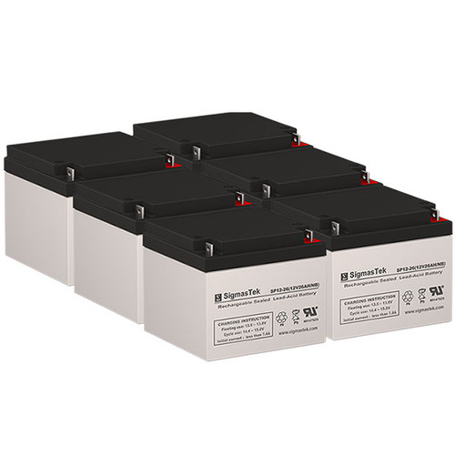 Deltec 2036 Battery Set