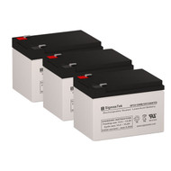 3 Fenton Technologies PowerPal L1400(X) 12V 12AH UPS Replacement Batteries