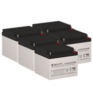 5 General Power GPS-2K-120-61 12V 26AH UPS Replacement Batteries