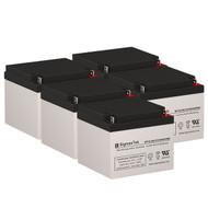 5 General Power GPS-2K-120-61 12V 26AH UPS Replacement Batteries