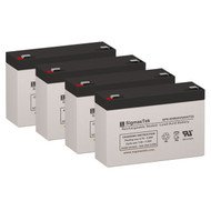 4 MGE Pulsar Evolution 800 Rack 6V 9AH UPS Replacement Batteries