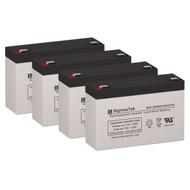 4 MGE Pulsar Evolution 800 Rack 6V 9AH UPS Replacement Batteries