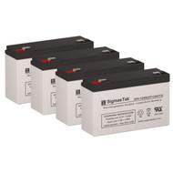 4 Para Systems Minuteman A1250 6V 12AH UPS Replacement Batteries