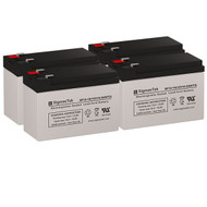 4 Sola Network UPS N1200 12V 10.5AH UPS Replacement Batteries