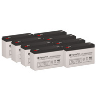 8 Topaz 32200R 6V 12AH UPS Replacement Batteries