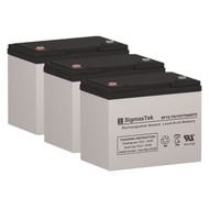 3 Tripp Lite BP36VXR 12V 75AH UPS Replacement Batteries