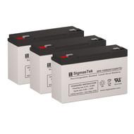 3 Tripp Lite BC500 6V 12AH UPS Replacement Batteries