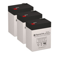 3 Tripp Lite BC400LAN 6V 4.5AH UPS Replacement Batteries