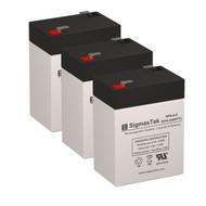 3 Tripp Lite BC400LAN 6V 4.5AH UPS Replacement Batteries