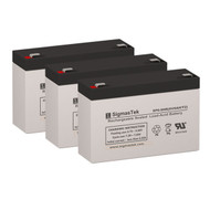 3 Tripp Lite BC500A 6V 9AH UPS Replacement Batteries