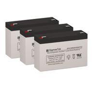 3 Tripp Lite BC500A 6V 9AH UPS Replacement Batteries