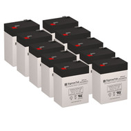 10 Unison DP1000 6V 4.5AH UPS Replacement Batteries