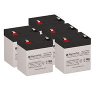 5 PowerWare PRESTIGE EXT 750 12V 5.5AH UPS Replacement Batteries