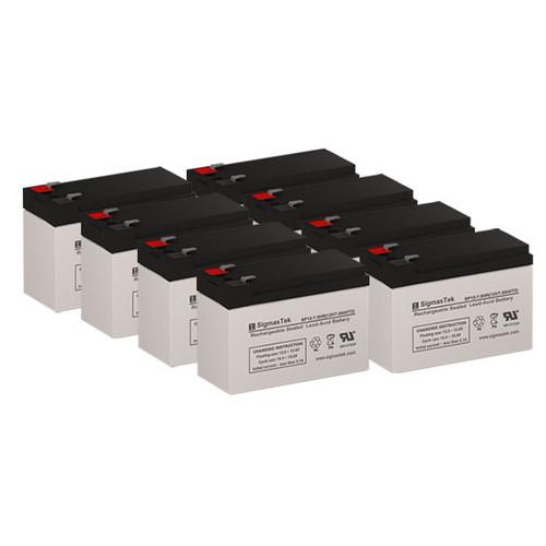 8 APC CURK12 12V 7.5AH UPS Replacement Batteries