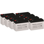 8 APC CURK27 12V 9AH UPS Replacement Batteries