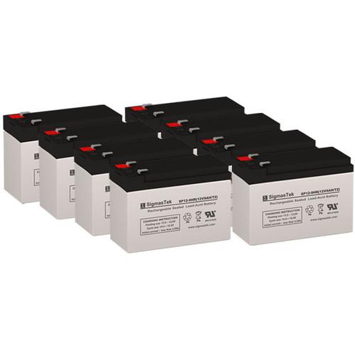 8 APC CURK27 12V 9AH UPS Replacement Batteries
