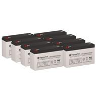 8 Eaton Powerware PowerRite Pro II 2000 Rackmount 6V 12AH UPS Replacement Batteries