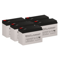 5 Eaton Powerware ASY-0529 12V 7.5AH UPS Replacement Batteries