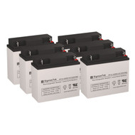 6 Eaton Powerware 2036C 12V 18AH UPS Replacement Batteries