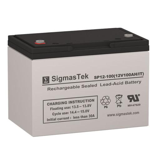 Best Power FERRUPS ME 1.4KVA 12V 100AH UPS Replacement Battery