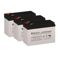 3 Tripp Lite SM1500XLNAFTA 12V 9AH UPS Replacement Batteries