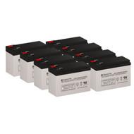 8 APC RBC27 12V 9AH UPS Replacement Batteries