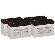 4 APC SMX750-NMC 12V 9AH UPS Replacement Batteries