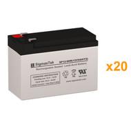 20 Tripp Lite SU20KX 12V 9AH UPS Replacement Batteries