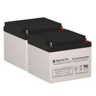 2 APC RBC AP1 12V 26AH SLA Batteries