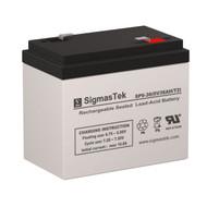 Dual-Lite 12-554 6V 36AH Emergency Lighting Battery
