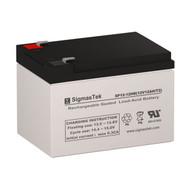 Els EDS12120S 12V 12AH Emergency Lighting Battery