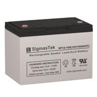 Siltron L90H 12V 100AH Emergency Lighting Battery