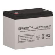 Sure-Lites 2369 12V 75AH Emergency Lighting Battery