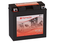 Yamaha 1100CC XVS1100 V-Star (All), 1999-2009 motorcycle battery