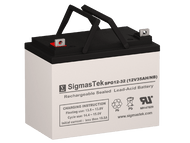 SigmasTek SPG12-32 12V 32AH GEL Battery Replacement