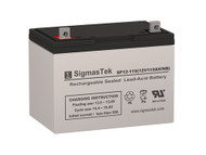 Power Sonic PS-121100 Replacement 12V 110AH SLA Battery