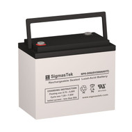 Crown Battery 6CE220 Replacement 6V 210AH SLA Battery