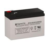 Rhino SLA10-12T-T25 Replacement 12V 10.5AH SLA Battery