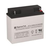 Sentry Battery PM12200 Replacement 12V 18AH SLA Battery