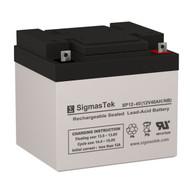 Vision 6FM40-X Replacement 12V 40AH SLA Battery
