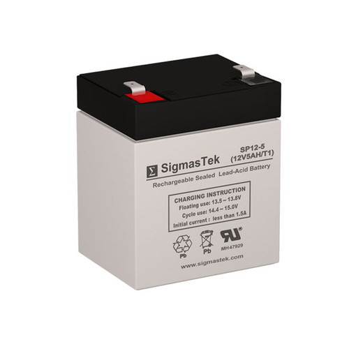 Amstron AP-1250F1 Replacement 12V 5AH SLA Battery