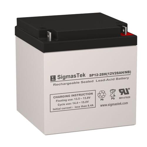 Sunnyway SWE12280(II) Replacement 12V 28AH SLA Battery