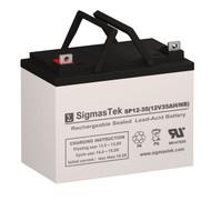 Powertron PTU1-35 Replacement 12V 35AH SLA Battery