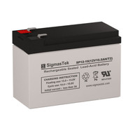 Gruber Power GPS12-10F2 Replacement 12V 10.5AH SLA Battery