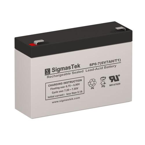 Alexander GB670 Replacement 6V 7AH SLA Battery