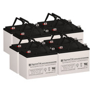 8 Excel U-1(8) Replacement 12V 35AH SLA Batteries