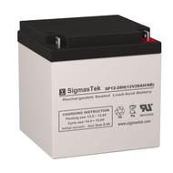 Genesis NPX-100R Replacement 12V 28AH SLA Battery