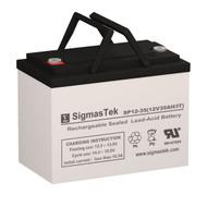 Sunnyway SWE12350(II) Replacement 12V 35AH SLA Battery