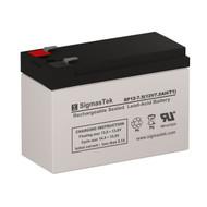 SigmasTek SP12-7.5 Replacement 12V 7AH SLA Battery